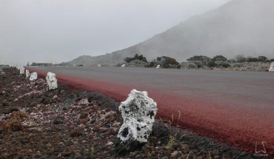 Eruptions de 2004 et 2015, les tunnels de lave...